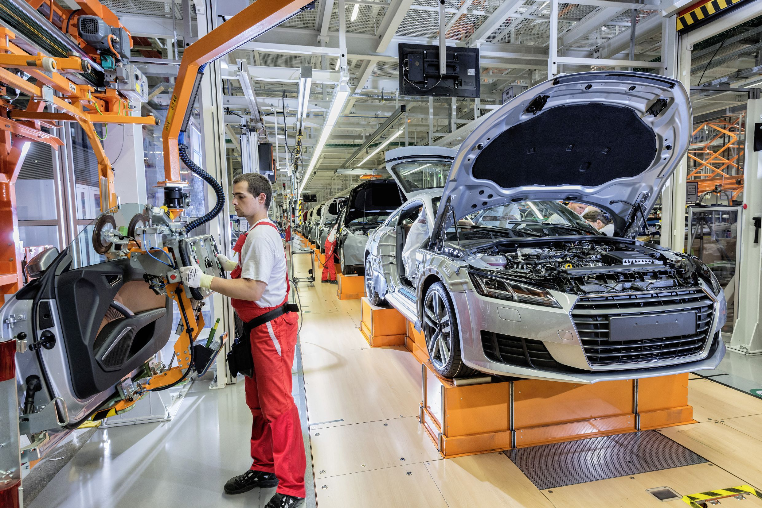 Actemium ASAS starts a new skillet line project in AUDI Ingolstadt